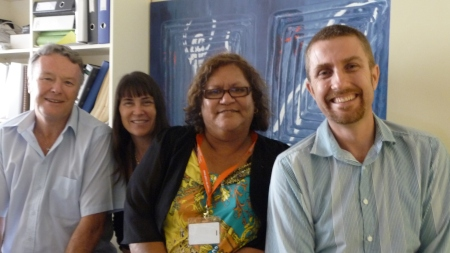 Farewell from the QM Strategic Learning Team(L - R: David, Narinda, Letitia, Marcel)